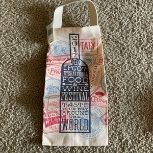 Food and wine Epcot 2017 Wine bag